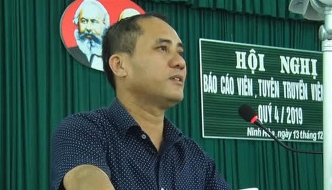 Nóng: Bí thư phường ở Khánh Hòa bị đâm tử vong - Ảnh 1.