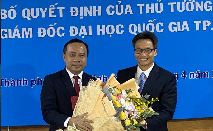 Tân giám đốc ĐHQG TP HCM công bố 3 nhiệm vụ trọng tâm - Ảnh 2.