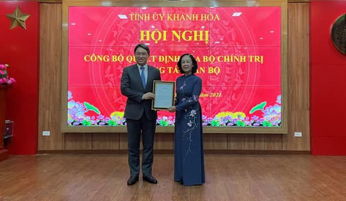 Khánh Hòa có tân Bí thư Tỉnh ủy - Ảnh 1.