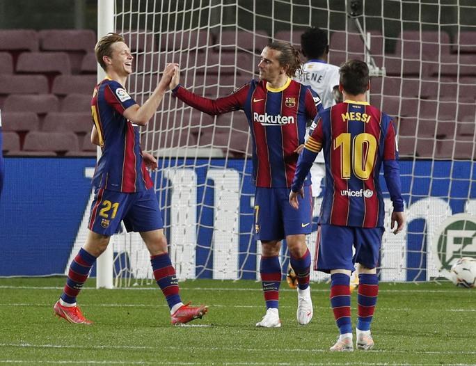 Messi nhảy múa ghi bàn trước Getafe, Barcelona trở lại Top 3 La Liga - Ảnh 6.