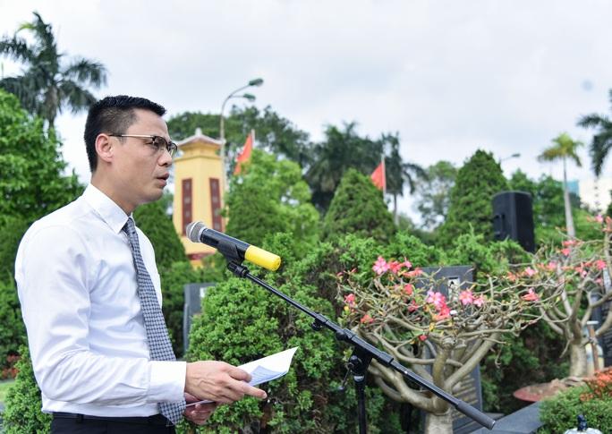 Dâng hương tưởng niệm nguyên Phó Chủ tịch Hội đồng Bộ trưởng Nguyễn Cơ Thạch - Ảnh 3.