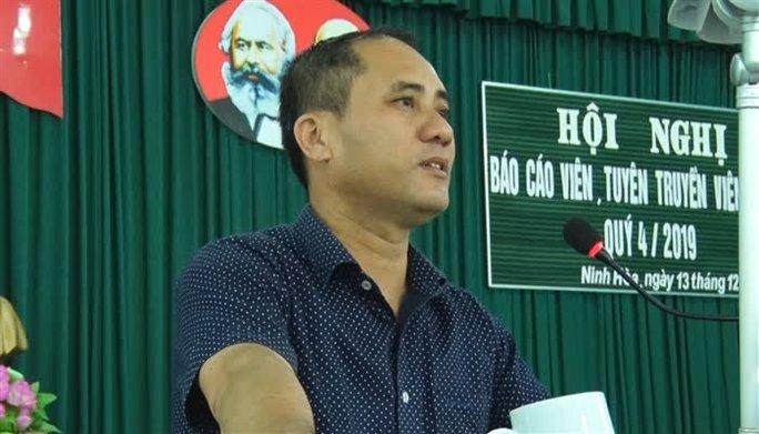 Khởi tố vụ án bí thư phường bị đâm chết ở Khánh Hòa - Ảnh 1.