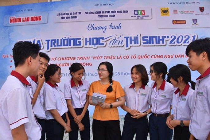 Hôm nay (25-4): Đưa trường học đến thí sinh tại Bình Thuận - Ảnh 1.