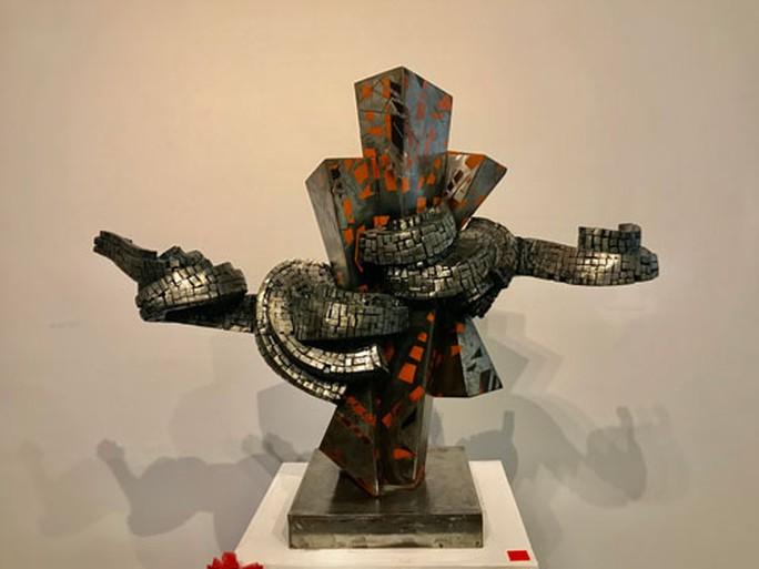 Điêu khắc và kiến trúc cần sự tương tác - Ảnh 1.