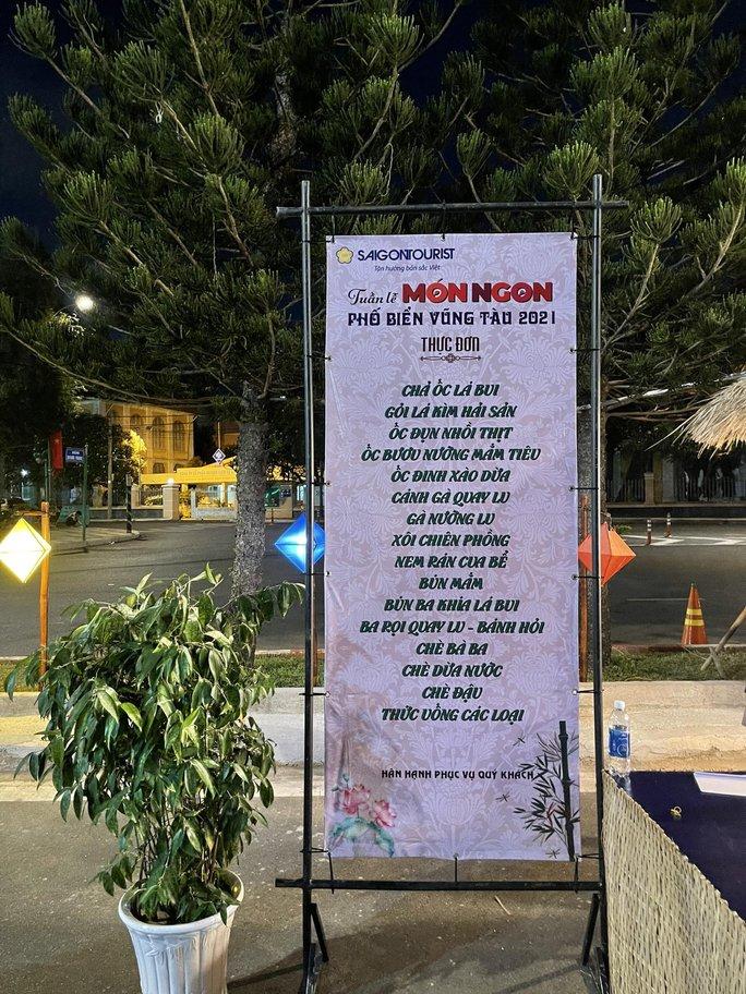 Saigontourist Group giới thiệu Tinh hoa ẩm thực Việt tại Tuần lễ món ngon phố biển Vũng Tàu  - Ảnh 2.