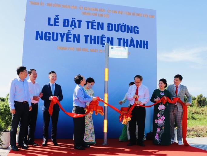 TP HCM: Chính thức đặt tên mới  cho 20 tuyến đường ở TP Thủ Đức - Ảnh 1.