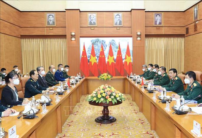Bộ trưởng Phan Văn Giang đón Bộ trưởng Quốc phòng Trung Quốc thăm Việt Nam - Ảnh 8.