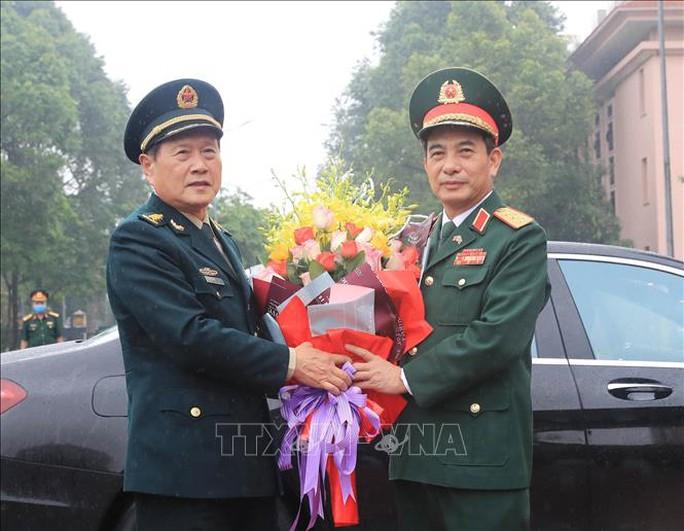 Bộ trưởng Phan Văn Giang đón Bộ trưởng Quốc phòng Trung Quốc thăm Việt Nam - Ảnh 2.