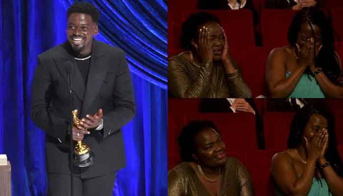 """Oscar 2021: Brad Pitt bị trêu chọc, Daniel Kaluuya khiến gia đình """"muối mặt"""" - Ảnh 5."""