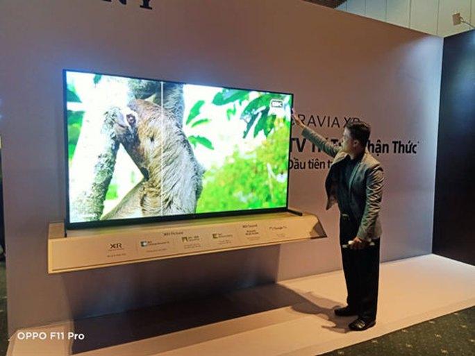 Dòng TV BRAVIA XR có bộ xử lý cao hơn AI - Ảnh 1.