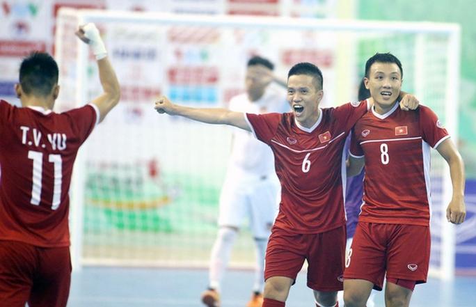 Trực tiếp Việt Nam đấu Lebanon tại play-off VCK FIFA Futsal World Cup 2021 - Ảnh 1.