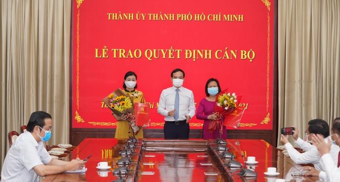 Thành ủy TP HCM trao quyết định nhân sự cho Báo Người Lao Động, Báo Phụ Nữ - Ảnh 2.