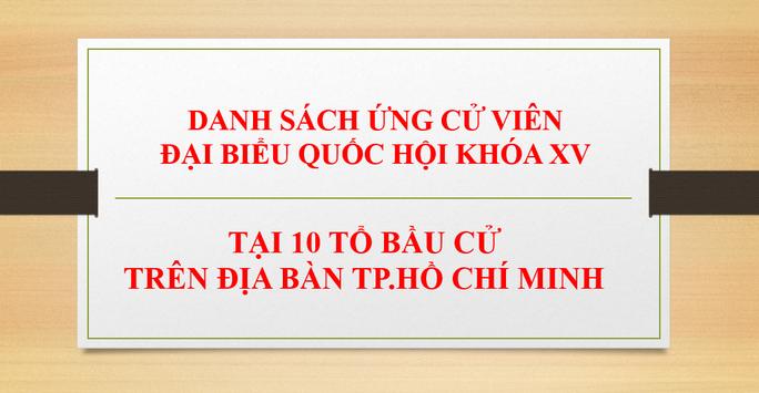 Chủ tịch nước Nguyễn Xuân Phúc thuộc đơn vị bầu cử huyện Củ Chi và Hóc Môn - Ảnh 1.