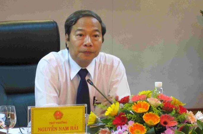 Kiến nghị điều tra nguyên thứ trưởng Bộ Công Thương Nguyễn Nam Hải - Ảnh 1.