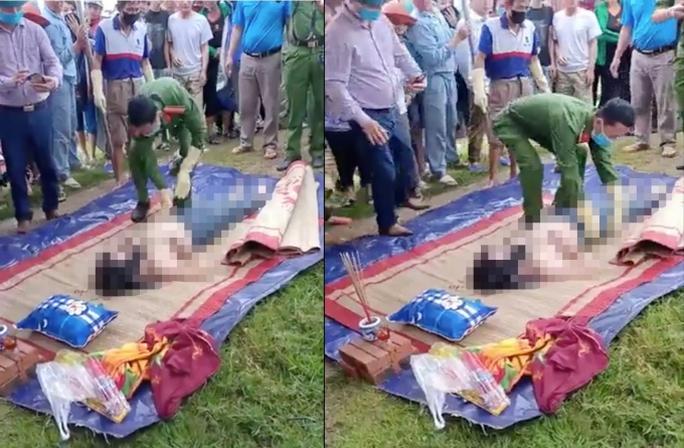 Tá hỏa phát hiện thi thể người phụ nữ chưa rõ danh tính trôi trên kênh - Ảnh 1.