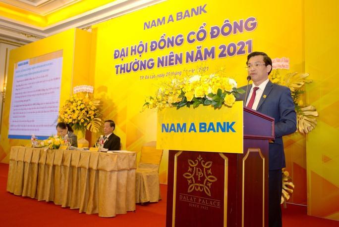 Nam A Bank chia cổ tức gần 15% bằng cổ phiếu, sớm chuyển sàn lên HoSE - Ảnh 1.