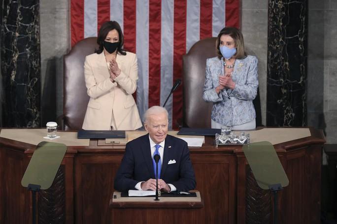 Điều lịch sử sau lưng Tổng thống Joe Biden - Ảnh 1.