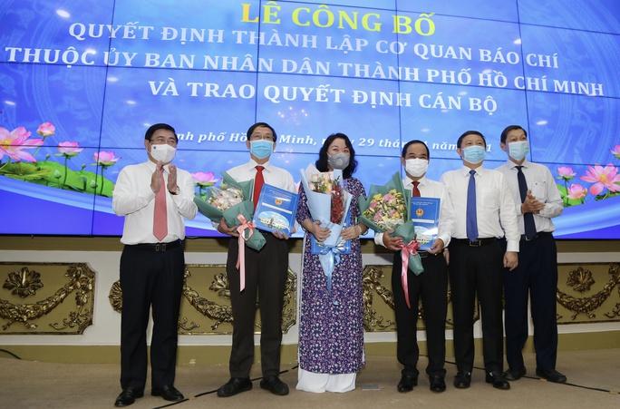 Công bố thành lập 5 cơ quan báo chí thuộc UBND TP HCM - Ảnh 3.
