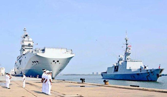 Pháp tập trận hải quân với Bộ tứ - Ảnh 1.