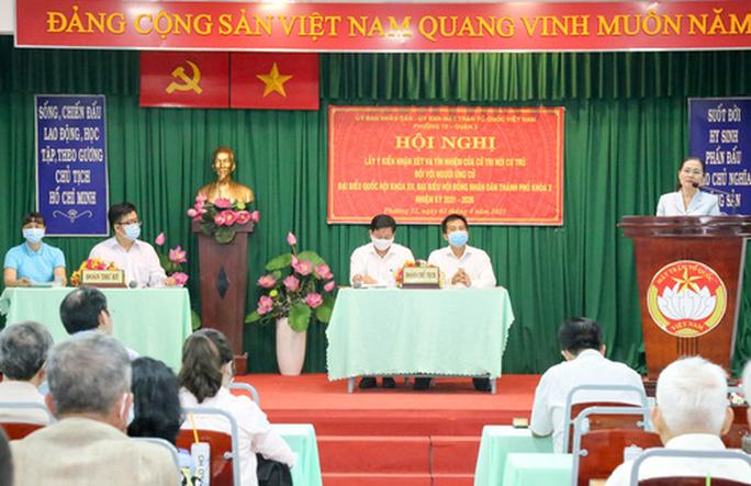 100% cử tri nơi cư trú đồng ý giới thiệu bà Nguyễn Thị Lệ ứng cử đại biểu Quốc hội - Ảnh 1.