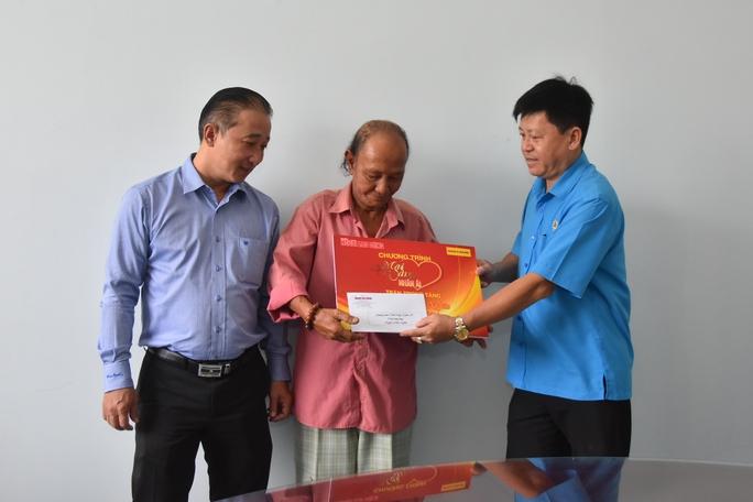 Mai Vàng nhân ái hỗ trợ 3 nghệ sĩ ở Bến Tre - Ảnh 9.