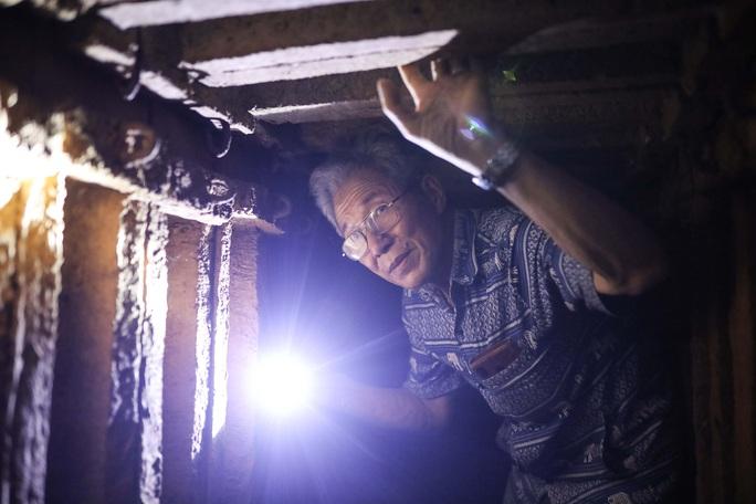 CLIP: Bên trong địa đạo ở Hà Nội - Ảnh 18.