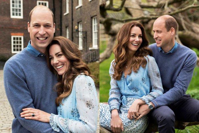 10 năm hôn nhân ngọt ngào của Hoàng tử William và Công nương Kate - Ảnh 10.
