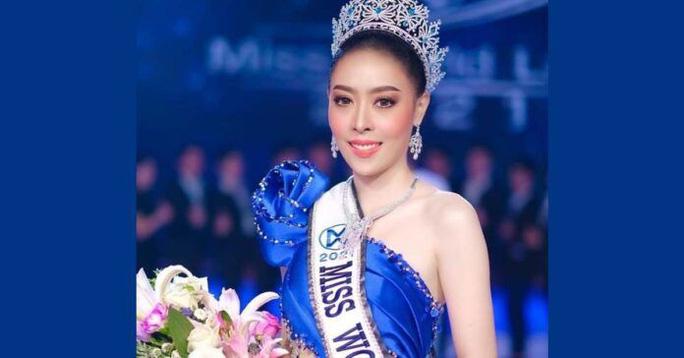 Hoa hậu Thế giới Lào 2021 từ bỏ vương miện sau bê bối gian lận tuổi - Ảnh 2.