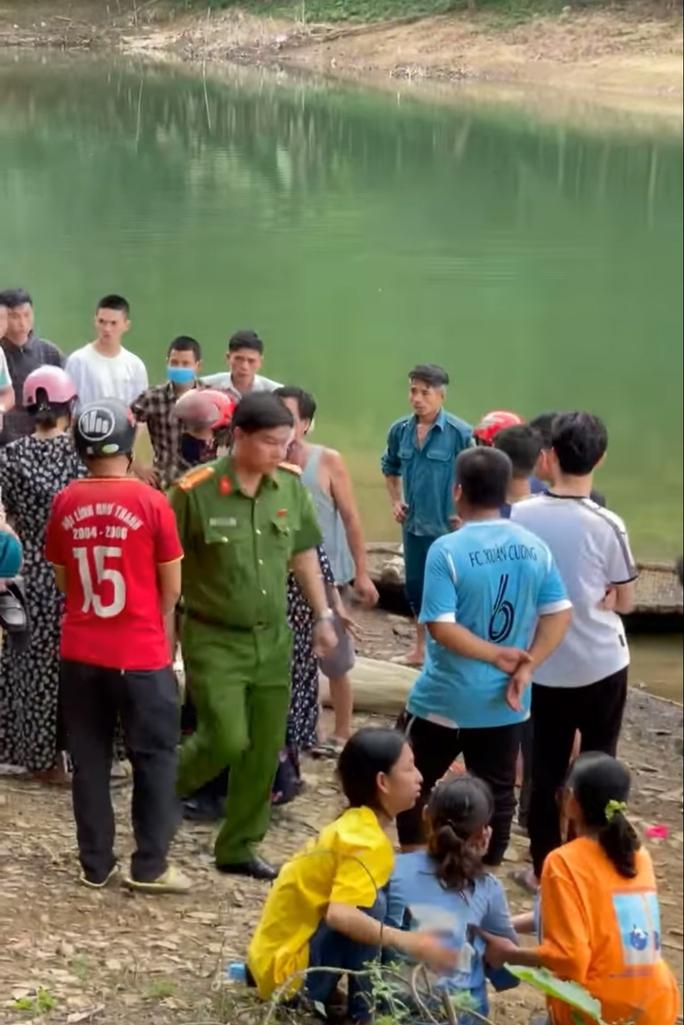 Đi picnic, nam sinh lớp 11 chết đuối ở hồ sông Mực - Ảnh 1.
