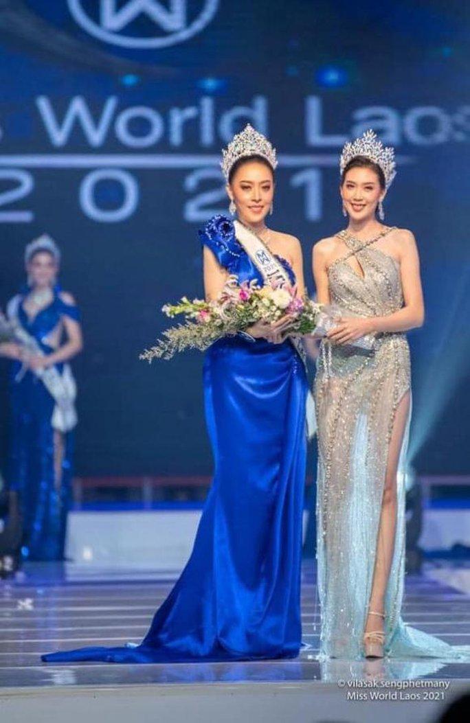 Hoa hậu Thế giới Lào 2021 từ bỏ vương miện sau bê bối gian lận tuổi - Ảnh 3.