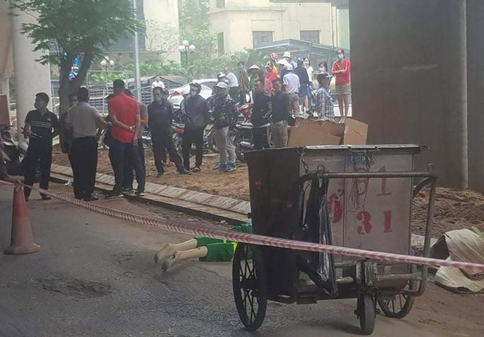 Chủ tịch Hà Nội chỉ đạo điều tra, xử lý nghiêm vụ lao công bị sát hại khi đang quét rác - Ảnh 1.