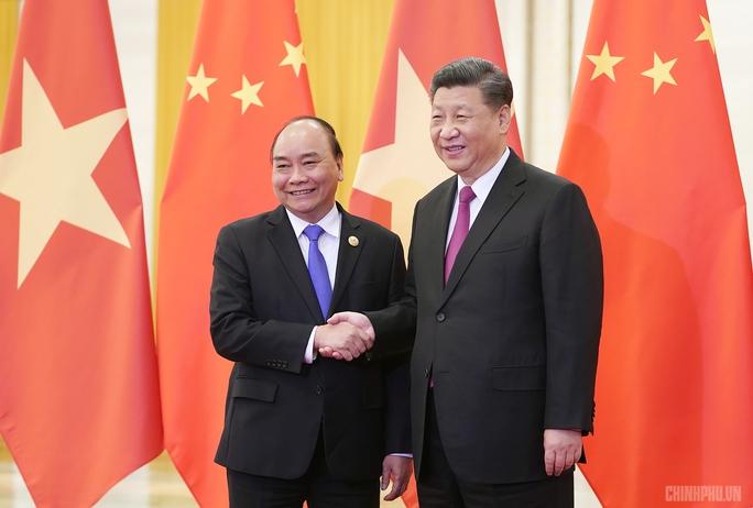 Chủ tịch Trung Quốc, Tổng thống Nga chúc mừng Chủ tịch nước Nguyễn Xuân Phúc - Ảnh 1.