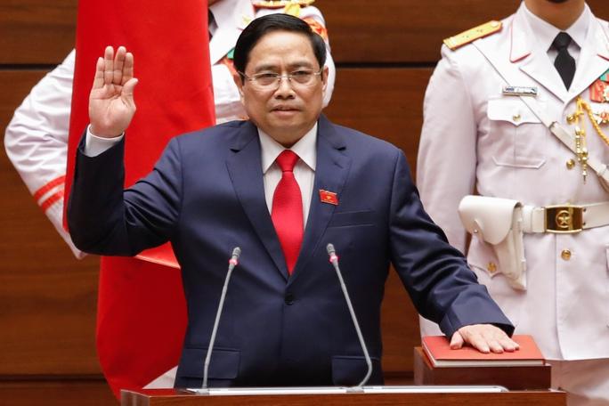 Tân Thủ tướng Chính phủ Phạm Minh Chính tuyên thệ nhậm chức - Ảnh 3.