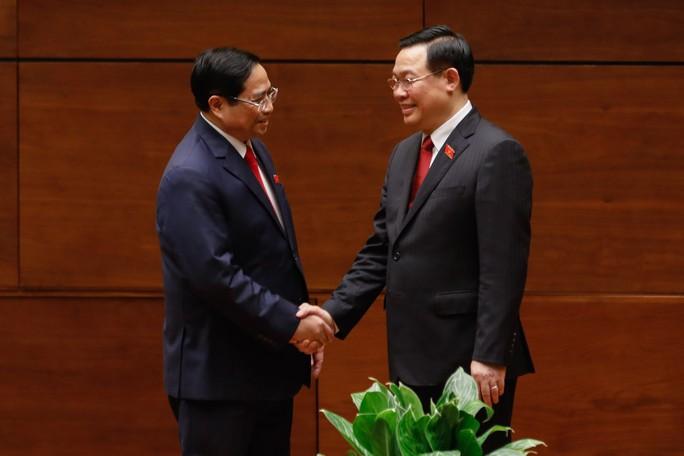 Tân Thủ tướng Chính phủ Phạm Minh Chính tuyên thệ nhậm chức - Ảnh 4.