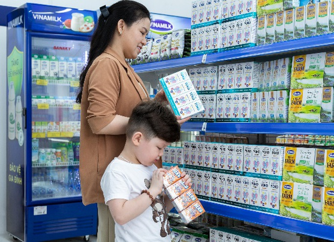 Exceeding the milestone of 500 Vietnamese Dairy Dream stores, Vinamilk increases the shopping experience for consumers - Photo 2.