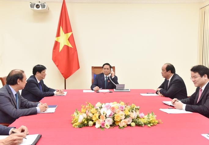 Tân Thủ tướng Phạm Minh Chính điện đàm với Thủ tướng Lào, Campuchia - Ảnh 2.