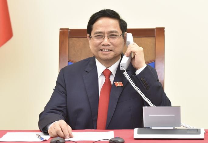 Tân Thủ tướng Phạm Minh Chính điện đàm với Thủ tướng Lào, Campuchia - Ảnh 3.
