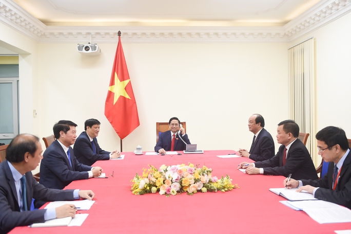 Tân Thủ tướng Phạm Minh Chính điện đàm với Thủ tướng Lào, Campuchia - Ảnh 4.