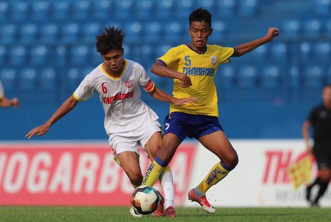 Lứa đàn em Công Phượng toàn thắng vòng bảng VCK U19 quốc gia 2021 - Ảnh 1.
