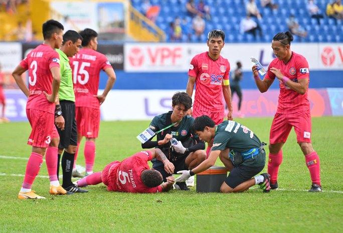 Sài Gòn FC thua trận thứ 5 liên tiếp, xếp chót V-League 2021 - Ảnh 2.