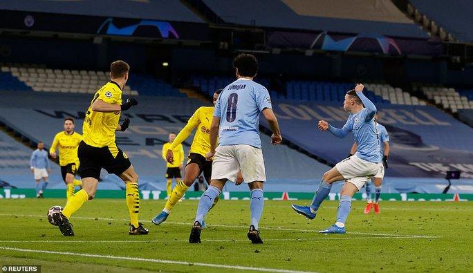 Cộng đồng mạng sốc với trọng tài, Man City thoát hiểm trước Dortmund - Ảnh 6.