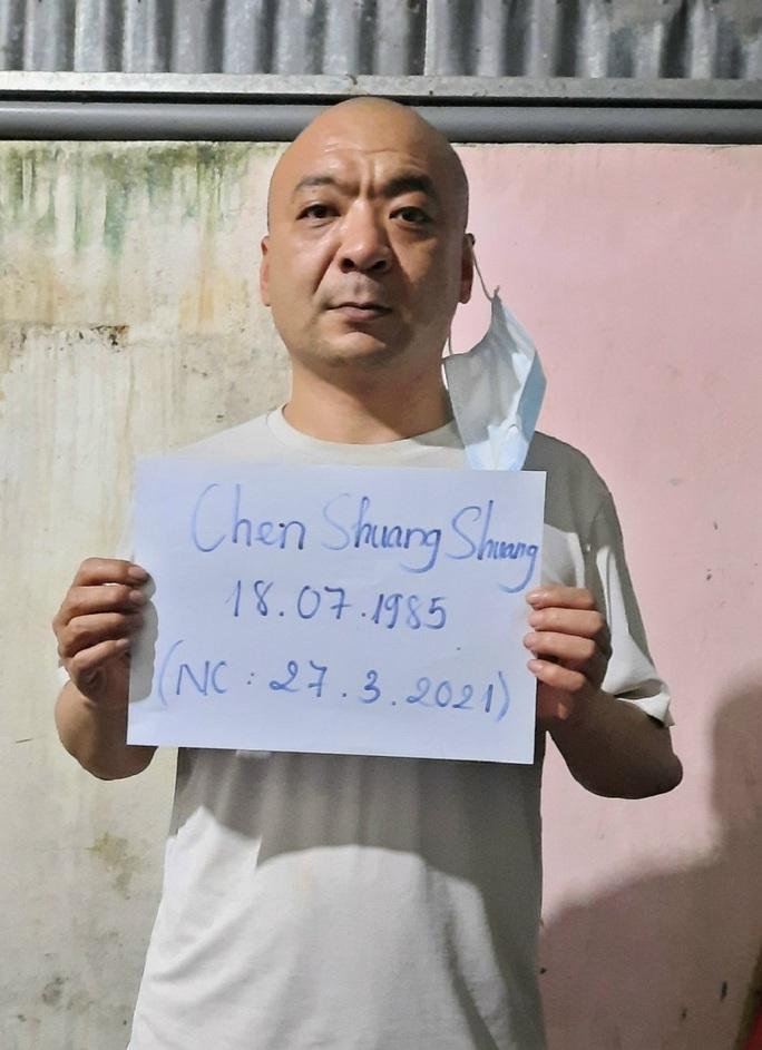 An Giang bắt 4 người Trung Quốc lọt qua cửa khẩu ở phía Bắc nhiều ngày - Ảnh 1.