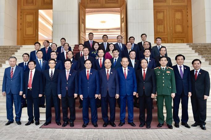 Chùm ảnh: Bàn giao công việc của Thủ tướng Chính phủ - Ảnh 7.