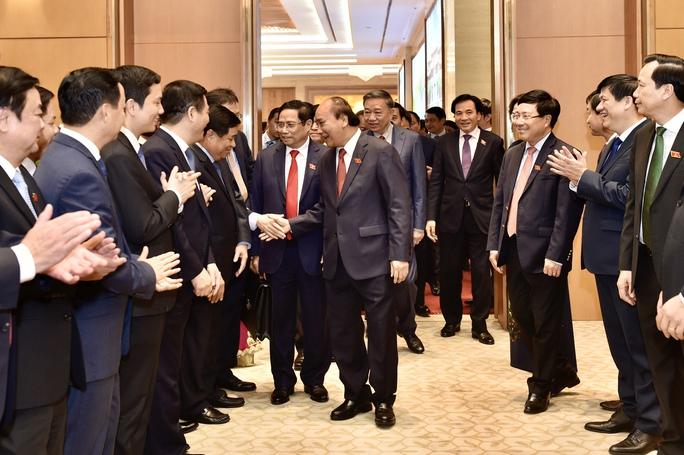 Chùm ảnh: Bàn giao công việc của Thủ tướng Chính phủ - Ảnh 9.