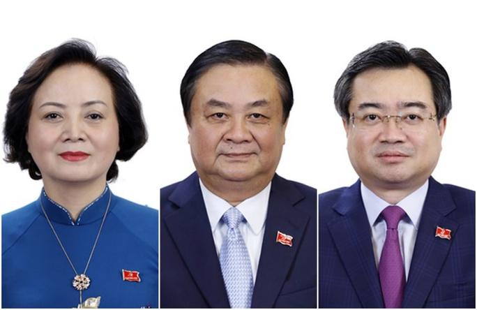 Phê chuẩn bổ nhiệm 2 Phó Thủ tướng và 12 Bộ trưởng, trưởng ngành mới - Ảnh 5.