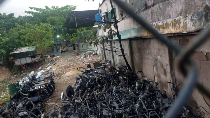 Công an TP Thủ Đức công bố nguyên nhân cháy bãi giữ xe vi phạm - Ảnh 2.
