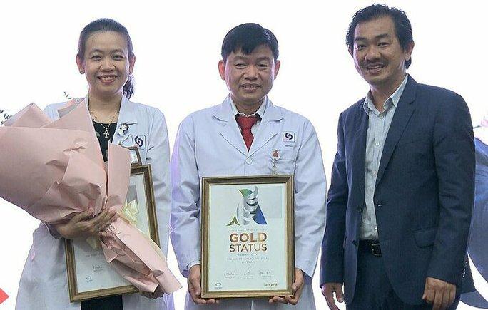 Bệnh Viện Nhân Dân Gia Định TP HCM đạt chứng nhận vàng trị đột quỵ - Ảnh 1.