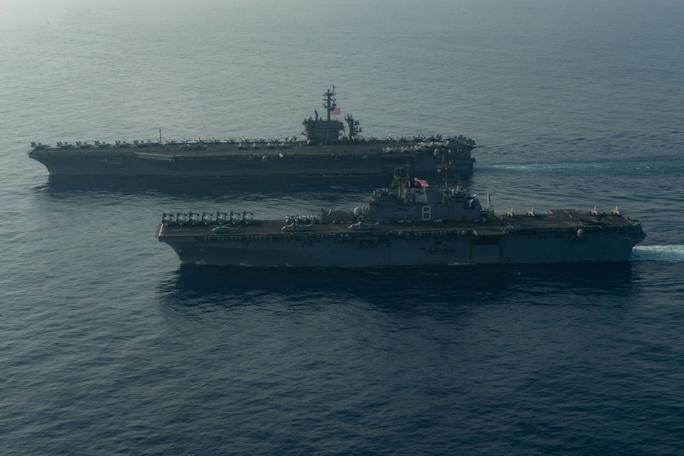 Mỹ đưa lực lượng hùng hậu đến biển Đông - Ảnh 5.