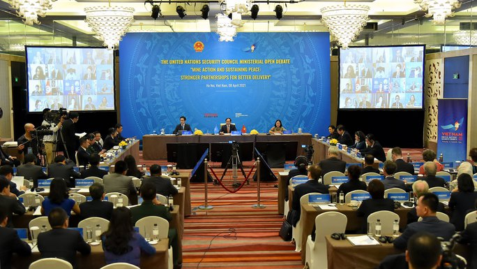 Diễn viên Dương Tử Quỳnh dự cuộc họp Liên Hiệp Quốc do Việt Nam chủ trì - Ảnh 10.