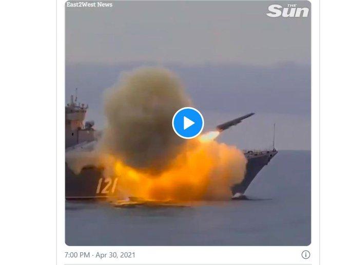 Tuần tra Mỹ vào biển Đen, Nga phóng tên lửa thị uy ? - Ảnh 2.